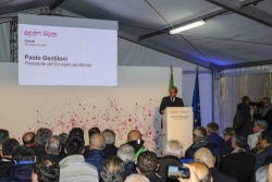 Tutte le promesse di Gentiloni a Campli per l'inaugurazione della banda larga
