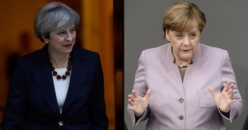 Brexit, la premier May tentata di approfittare della crisi della cancelliera Merkel in Germania
