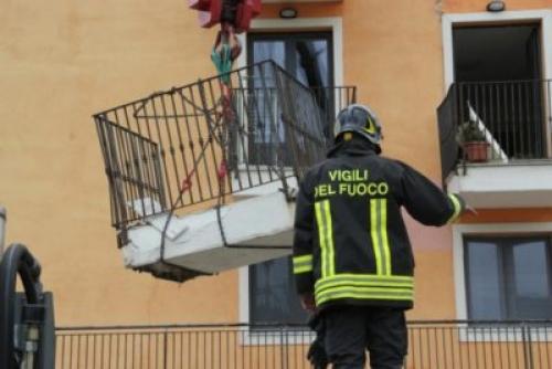I balconi crollati e la beffa