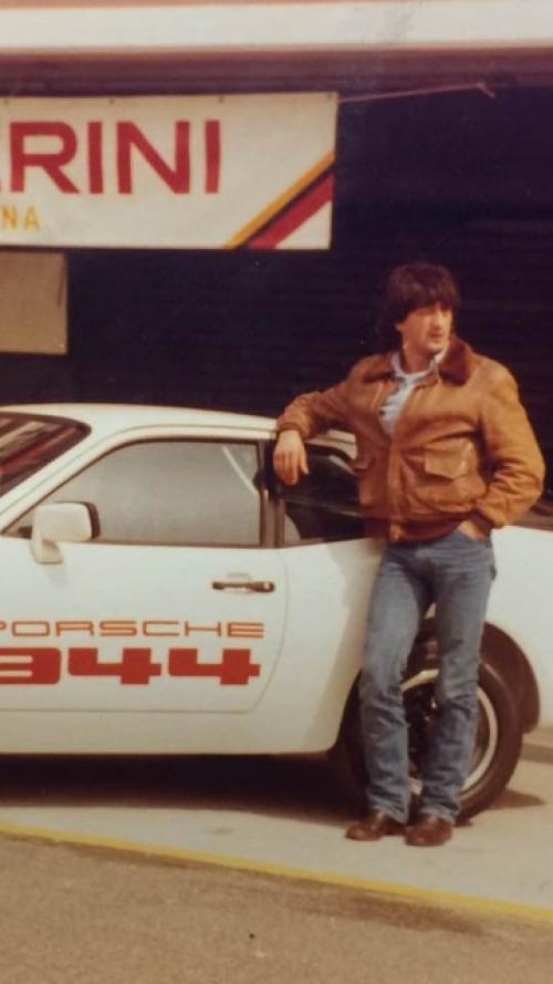Moreno taxi driver - Stylettate/Greta Sgarbo