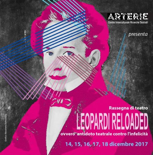 'Leopardi Reloaded'  allo Spazio Matta di Pescara
