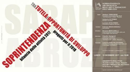 Bilancio e progetti per i Beni Culturali in Abruzzo