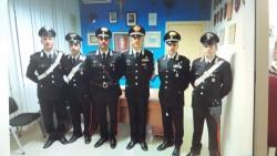 Il n 1 dei Carabinieri in visita a Torre de' Passeri