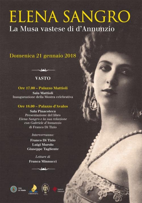 A Vasto una mostra dedicata a Elena Sangro, attrice e musa ispiratrice di D'Annunzio