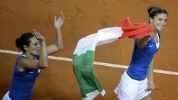 Tennis, al via la Fed Cup Italia Spagna al Palatricalle di Chieti