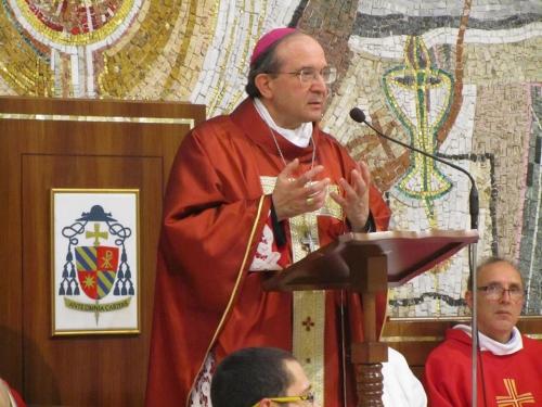 L'Aquila celebra San Sebastiano con la messa di monsignor Petrocchi a Collemaggio