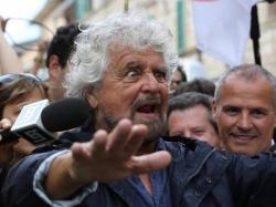 Rally d'Abruzzo per i figli di Grillo, con