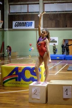 Ginnastica artistica. La tredicenne abruzzese Fabiana Carusi sul podio dei Campionati Regionali