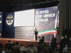 Che ha fatto, cosa ha detto e chi ha incontrato Giorgia Meloni a Pescara