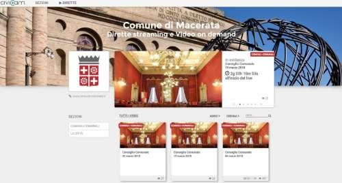 Macerata, ecco come nasce la nuova web tv del Comune