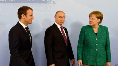 Macron-Merkel, Putin-Erdogan: il gioco delle coppie per non far scomparire l'Ue