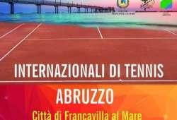 Francavilla al Mare, tornano gli Internazionali di tennis Abruzzo
