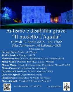 Autismo e disabilità grave: