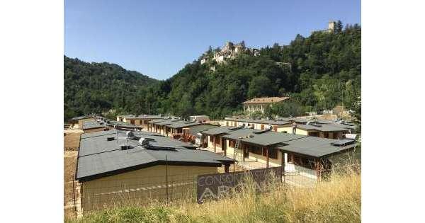 Sisma centro Italia: consegnate 3.058 casette in 44 Comuni