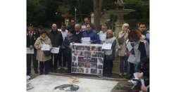 Rigopiano: Chieti, flash mob per agente