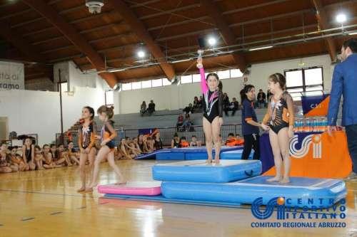 Ancora sul podio le aquilane della ginnastica artistica Torrione