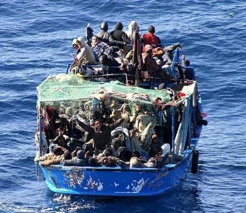 Tutto va bene madama la marchesa: 62 migranti fermati, erano diretti in Italia
