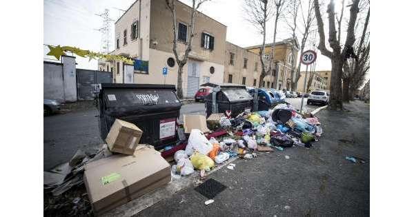 Rifiuti Roma trattati in Abruzzo a 2018
