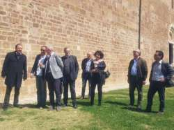 Fossacesia, sopralluogo per il risanamento dell' abbazia di San Giovanni in Venere