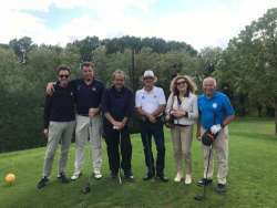 Chi ha incontrato (sul green) in Abruzzo Michel Platini