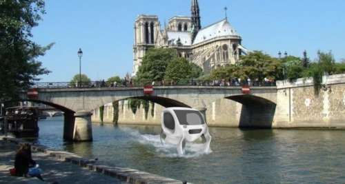 In volo...sulla Senna. L'auto-scafo è ormai realtà (costosissima)