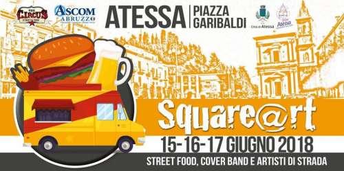 Atessa, dal 15 al 17 giugno: street food, cover band e molto altro