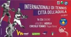Tutto pronto per gli Internazionali di Tennis Città dell'Aquila