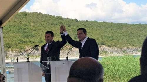 Farsa Macedonia: accordo al ribasso Tsipras-Zaev sul nome