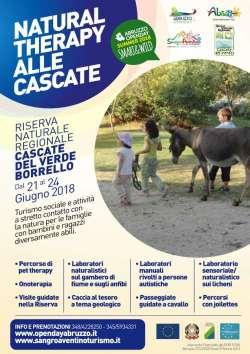 A Borrello la Natural therapy alle cascate Del Verde