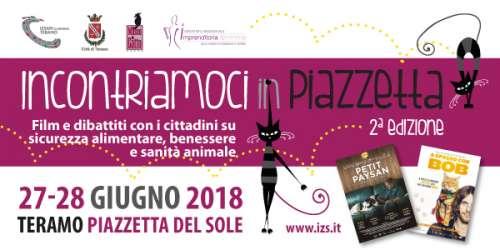 """Teramo, """"Incontriamoci in Piazzetta"""", 27 e 28 giugno."""