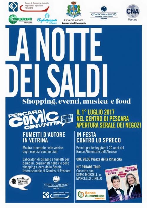 Pescara, sabato 1 luglio