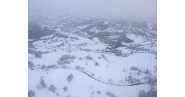 Montorio, ancora disagi da nevicata 2017