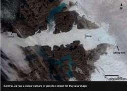Groenlandia, ecco le foto spaziali dell'iceberg