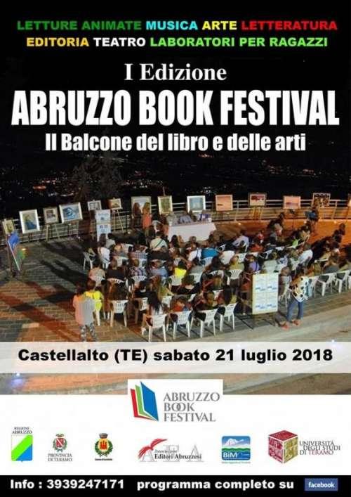 Abruzzo book Festival: chi c'è e come sarà la prima edizione