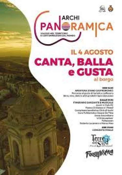 Il 4 agosto al via la prima edizione di Archi panoramica