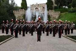 Ecco come a Pescara è protagonista la fanfara dei Carabinieri