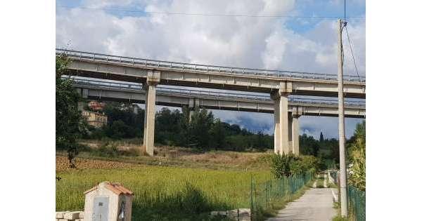 L'Aquila,'verifiche su viadotto Gignano'