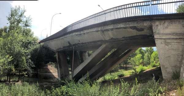 Stop parcheggio su Ponte Morandi Sulmona