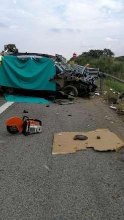 Incidente su A/14,due morti e due feriti