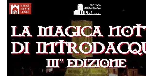 Arti occulte in'Notte Magica'Introdacqua