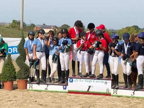 Sport equestri: Pony argento al prestigioso Trofeo Coni
