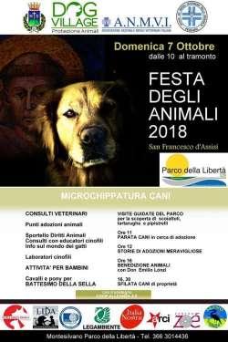 Montesilvano, al Parco della Libertà la festa degli animali 2018