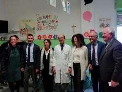 Ospedale di Lanciano, donato un lettino per il reparto Pediatria