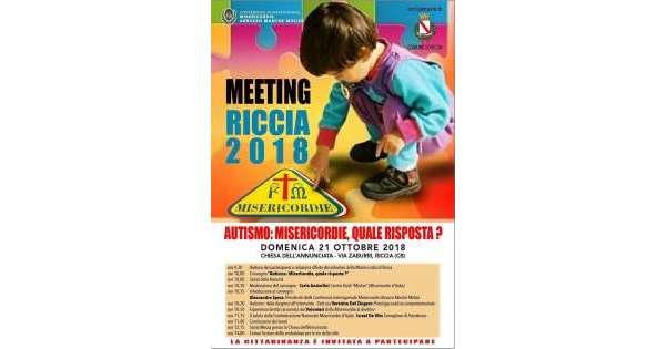 Misericordie, conferenza a Riccia il 21