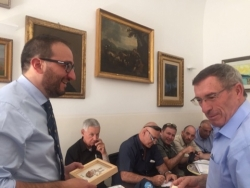 Il sindaco Pierluigi Biondi ha incontrato una delegazione israeliana