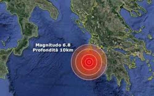 Terremoto a Zacinto, allarme tsunami anche in Italia