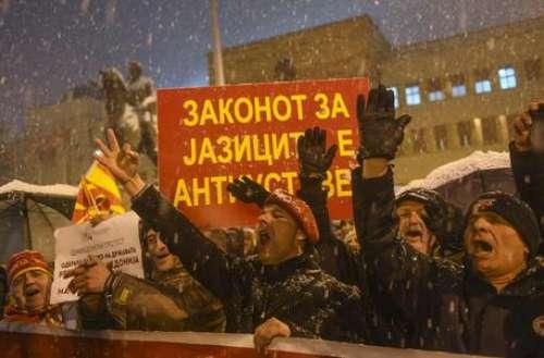 Nemmeno a Skopje sta bene il nome (farlocco) di Macedonia...