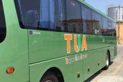 Atti vandalici su bus TUA: distrutti arredi interni