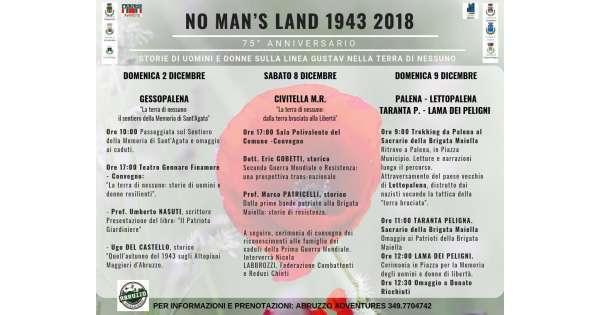 'No man's land' per 75 anni Linea Gustav