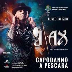 """J-Ax a Capodanno: """"Sarà un onore aspettare il 2019 a Pescara"""""""